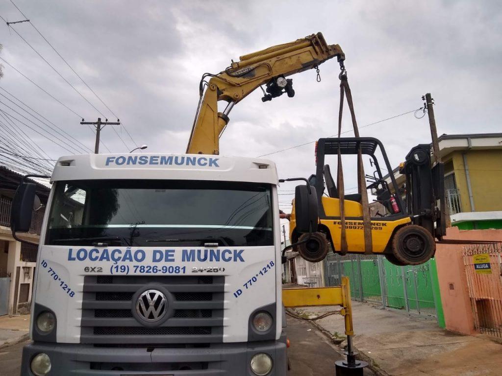 Fonse Munck – Locação de Munck em Campinas – SP