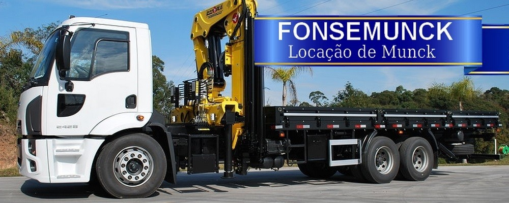 Fonse Munck - Locação de Munck em São Paulo - SP